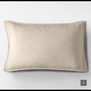 Restoration Hardware Cashmere Pillow Cover